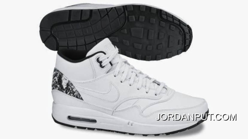 Nike Air Max 1 Mid FB White 685192-100 For Sale, Price: $87.00 ...